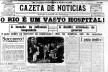 O retrato da epidemia de gripe espanhola no Rio de Janeiro em 1918 [<i>Gazeta de Notícias</i>, 15 de outubro de 1918]