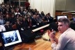 Alejandro Aravena em conferência na FAU UniRitter<br />Foto divulgação