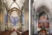 Basílica de Saint-Nazaire e Saint-Celse, Carcassonne, França<br />Foto Victor Hugo Mori