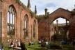 Evento na St. Luke´s Church ou Bombed Out Church, em Liverpool, Inglaterra<br />Foto Victor Sena