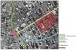 """Localização do Conjunto da Hípica. Principais vias de acesso e referência ao """"Largo da Batata"""" [Adaptado do Google Earth – 09/2005]"""