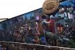Painel gigantesco em rua de Cusco/Peru<br />Foto Adriana Idalina Rojas Gutierrez