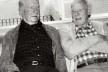 Bruno Giorgi e Alfredo Volpi, 1985<br />Foto divulgação  [Arquivo Leontina Giorgi]