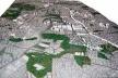 Operação Urbana Vila Sônia. Plano-Referência de Intervenção e Ordenação Urbanística. Maquete com vista geral desde Pinheiros
