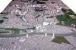 Operação Urbana Vila Sônia. Plano-Referência de Intervenção e Ordenação Urbanística. Maquete com vista geral desde Taboão
