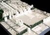 Operação Urbana Vila Sônia. Plano-Referência de Intervenção e Ordenação Urbanística. Pólo Vila Sônia: maquete de conjunto