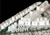 Operação Urbana Vila Sônia. Plano-Referência de Intervenção e Ordenação Urbanística. Pólo Vital Brasil: maquete do conjunto