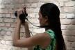 Nina Dalla, estudante e estagiária do portal Vitruvius<br />Foto Silvana Romano