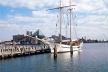 Inner Harbor, Baltimore. Revitalização do porto histórico na área central