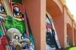 Arcos do Bixiga, muros com grafites, São Paulo, 14/02/2015<br />Foto Martin Jayo