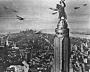 King Kong (o primitivo) X Empire State Building (o moderno)