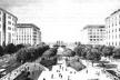 Na reconstrução de Beirute, depois da Guerra civil, uma das opções urbanísticas: Paris do Oriente Médio [www.solidere-online.com]