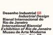 Cartaz da Bienal de Design Industrial de 1968 no MAM Rio<br />Imagem divulgação