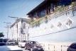 Academia Vila Forma, fachada lateral em detalhe<br />Foto do autor