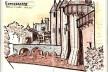 Torres de Carcassonne, França<br />Desenho de Petterson Dantas