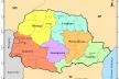 Mapa do Estado do Paraná, detalhe dos núcleos urbanos de Toledo e Marechal Cândido Rondon inseridos no perímetro da área colonizada pela Maripá<br />IBGE, 2019
