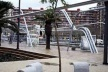 Parque Diagonal Mar em Barcelona, Enric Miralles e Benedetta Tagliabue