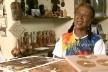 Dona Lira Marques, artesã do Vale do Jequitinhonha, que preserva a cultura afro-indígena<br />Foto divulgação  [EBC/TV Rede Brasil]