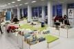 Biblioteca Municipal de Stuttgart, ala infantil. Arquiteto Young Yi<br />Foto Luiz Antonio Lopes de Souza