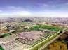 Vista geral da proposta de intervenção. Projeto Eixo Tamanduatehy, Prefeitura de Santo André