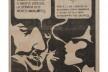 """Anúncio da Hobjeto utilizando a colagem """"They are Talking"""", Geraldo de Barros, 1968<br />© Fabiana e Lenora de Barros  [Acervo Geraldo de Barros]"""
