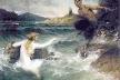 """""""A sereia e o Sátiro"""", Ferdinand Leeke"""
