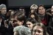 """Plateia após sessão """"à noitão"""". Move Cine Arte 2012, Monte Verde<br />Foto Helena Guerra"""