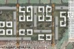 Implantação urbana /Atibaia. Concurso Habitação para Todos - CDHU. Edifícios de 3 pavimentos - 1º Lugar.<br />Autores do projeto  [equipe vencedora]
