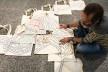 Montagem de exposição, II Seminário Internacional de Pesquisa em Design<br />Foto divulgação