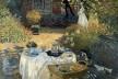 <i>Le déjeneur</i>, Claude Monet, 1873/74<br />Imagem divulgação  [Musée d'Orsay / E.G. Bührle Foundation]