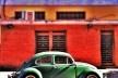 """Fusca verde, série fotográfica """"Os fuscas ofuscam""""<br />Foto Fernando Mascaro"""
