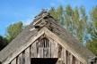 Morada com travamento de telhado em madeira que remete aos anos Vikings<br />Foto Ana Carolina Brugnera / Lucas Bernalli Fernandes Rocha