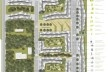 Implantação em Taboão da Serra. Concurso Habitação para Todos. CDHU. Edifícios de 6/7 pavimentos - 1º Lugar.<br />Autores do projeto  [equipe vencedora]