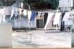 Terraço de casa na favela do Campinho<br />Foto Gabriel Jáuregui