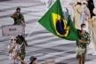 Desfile de apresentação da delegação brasileira nos Jogos Olímpicos de Tóquio, 2021<br />Foto divulgação  [EBC / Agência Brasil]