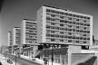 Conjunto habitacional na Avenida Infante Santo, Lisboa, 1954-1959. Arquitetos Alberto José Pessoa (1919-1985), Hernâni Gandra (1914-1988) e João Abel Manta (b. 1928)  <br />Foto Estúdio Novais, n.d. [196-]  [©FCG/BA]
