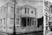 """Escola """"Benjamin Constant e fachada da Escola de Engenharia, obras do governo entre 1935 e 1938 [""""Álbum do Pará"""" (1939)]"""