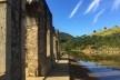Ruínas do parque arqueológico e ambiental de São João Marcos e as águas do Ribeirão das Lages, em Rio Claro RJ Brasil<br />Foto Dayane Caputo Camacho Lopes, 2019