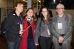 Carlos Fernando Bahima, Ana Carolina Pellegrini, Michelle Schneider e Salvador Gnoato durante coffee break<br />Foto Michelle Schneider