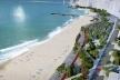 Coberta da feirinha constitui uma continuação do parque Beira-mar, amenizando o impacto dos 650 boxes na paisagem da Beira-mar