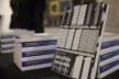 """Mesa de livros, festa de lançamento do livro """"Abrahão Sanovicz, arquiteto"""", IAB/SP, 22 ago. 2017<br />Foto Fabia Mercadante"""