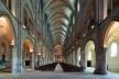 Abadia de San Remi, em Reims, França<br />Fotomontagem Victor Hugo Mori, 2014