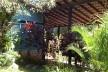 Casa Accioly, vista do pátio interno, Petrópolis, 1949-1951<br />Foto Marcia Poppe, 2003