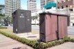 Oficina de desenho urbano MCB, interferências verticais: equipamentos de concessionária de energia elétrica, São Paulo, 2011<br />Foto Fabio Dias e Luiz Gustavo Sobral