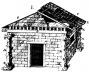 A cabana primitiva, segundo Jacques-François Blondel