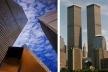 Detalhe dos pilares periféricos do World Trade Center, de Minoru Yamasaki [Structurae, 2004]