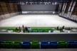 Construção da Arena da Juventude, Parque Olímpico de Deodoro, Rio de Janeiro, RJ, Escritório Vigliecca & Associados<br />Foto André Motta  [Agência Heusi Action]