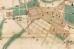 Detalhe do Mappa de Carlos Rath de 1855, com a localização do parcelamento do Campo Redondo
