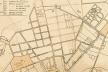 etalhe do Mappa de Carlos Rath de 1868, com a localização do parcelamento do Campo Redondo