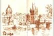 Praga, República Tcheca<br />Desenho de Petterson Dantas